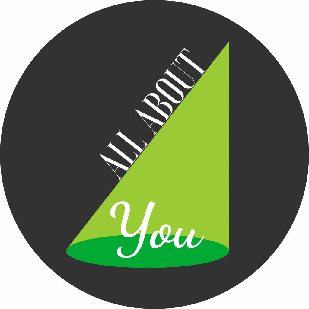 All About You Logo Dark