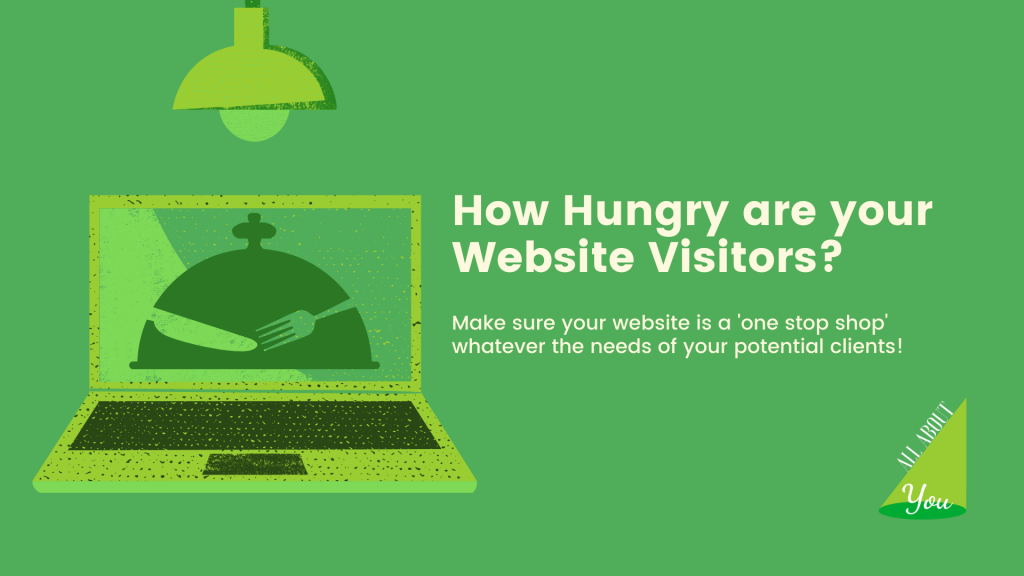 how hungry are your website visitors?
