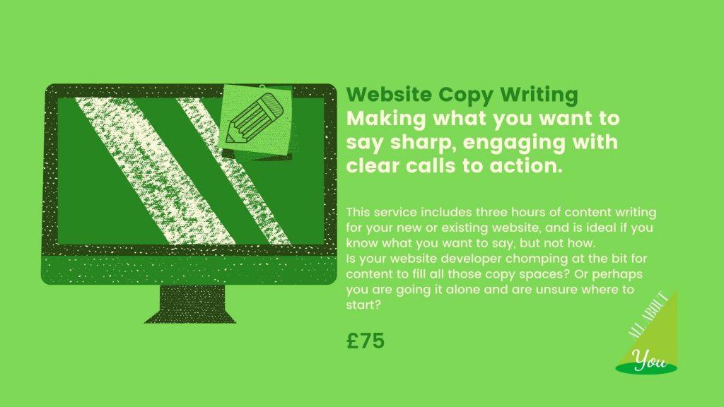 Website Copy Writing